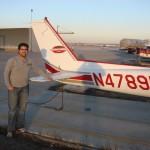 Después de mi primer vuelo en el N4789P