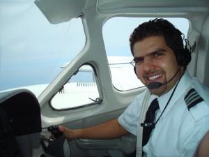 Mi primer dia a los mandos del Cessna 421
