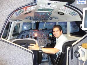 Simulador de Falcon 50 CAE Simuflite