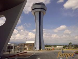 Nueva Torre del aeropuerto de Cuernavaca CVJ
